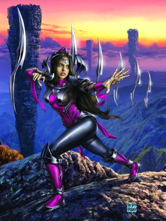 Fan Arte da personagem Irelia do League of Legends